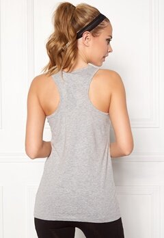 ONLY PLAY Leaf Loose Tank Top Light Grey Melange Bubbleroom.no
