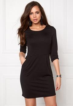 Jacqueline de Yong Lowe 3/4 dress Black Bubbleroom.se