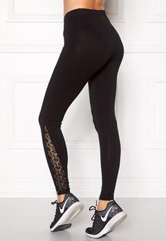 ONLY PLAY Megan Jersey Leggings Black Bubbleroom.se