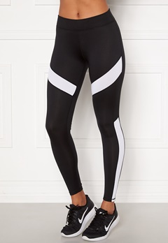 ONLY PLAY Pady Athl Leggings Black Detail: White Bubbleroom.se