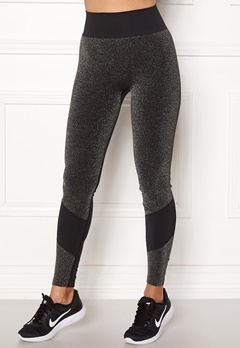 ONLY PLAY Sparkle Seamless Tights Black Bubbleroom.se