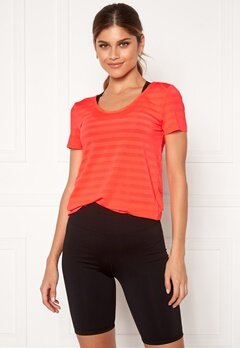 ONLY PLAY Sue V-Neck Training Tee Fiery Coral Bubbleroom.se