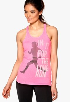 ONLY PLAY Twisted Training Top Grey/Neon Pink Bubbleroom.no
