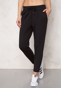 ONLY Poptrash Easy Pants Black Bubbleroom.se