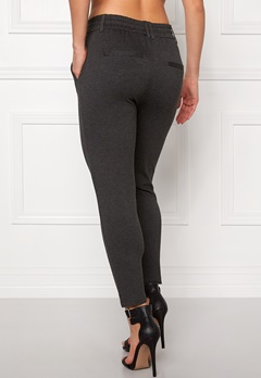 ONLY Poptrash Easy Pants Dark Grey Melange Bubbleroom.fi