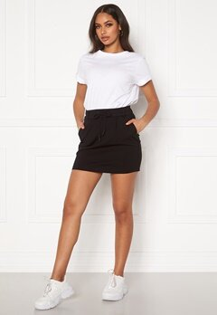 ONLY Poptrash Easy Skirt Black Bubbleroom.se