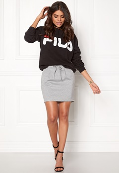 ONLY Poptrash Easy Skirt Light Grey Melange Bubbleroom.se