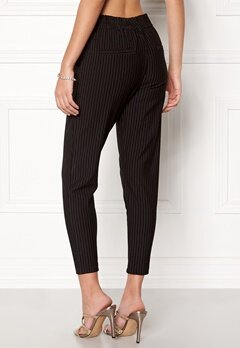 ONLY Poptrash Pinstripe Pants Black Bubbleroom.fi