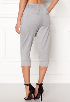 ONLY Poptrash Rib Knickers Light Grey Mel Bubbleroom.se