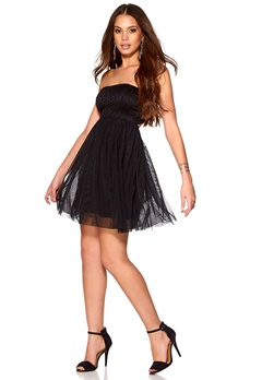 ONLY Princess dress Black Bubbleroom.se