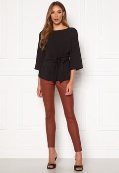 ONLY Rachel Faux Legging Fired Brick Bubbleroom.se