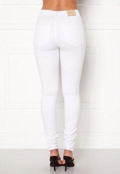 ONLY Royal HW Jeans White Bubbleroom.se