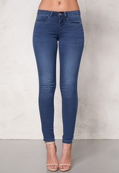 ONLY Royal Skinny Jeans Medium Blue Denim Bubbleroom.no