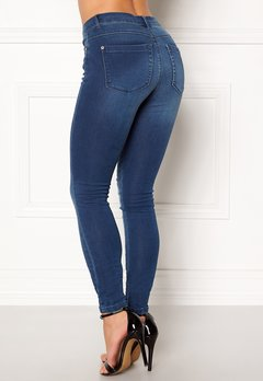 ONLY Royal Skinny Jeans Medium Blue Denim Bubbleroom.fi