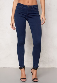 ONLY Royal High Skinny Medium Blue Denim Bubbleroom.se
