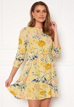 ONLY Sandra 3/4 Short Dress Pineapple Slice Bubbleroom.se
