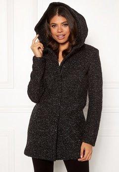 ONLY Sedona Boucle Wool Coat Black Bubbleroom.se