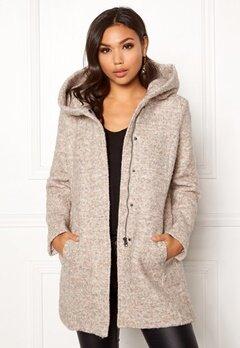 ONLY Sedona Boucle Wool Coat Nomad Bubbleroom.se