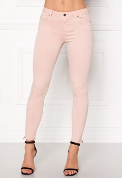 ONLY Serena Ankle Pants Peach Whip Bubbleroom.fi