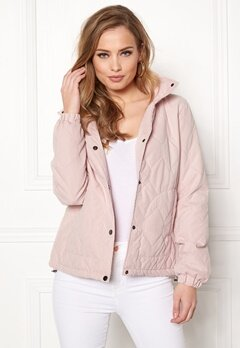ONLY Serena Quilted Jacket Rose Smoke Bubbleroom.se