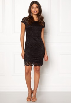 ONLY Shira Lace Dress Black Bubbleroom.fi