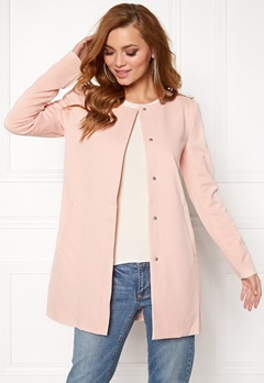 ONLY Sidney Lux Spring Coat Peach Whip Bubbleroom.fi