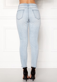 ONLY Silver Boyfriend Jeans Light Blue Denim Bubbleroom.fi