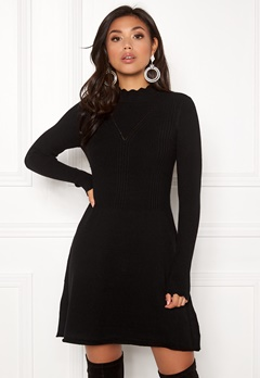ONLY Sonia L/S Dress Black Bubbleroom.se