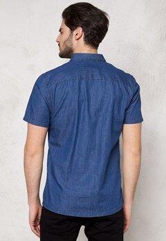 ONLY & SONS Adam SS Shirt Medium Blue Denim Bubbleroom.se