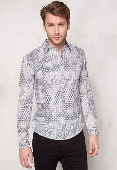 ONLY & SONS Arno LS Shirt Cloud Dancer Bubbleroom.no