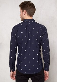 ONLY & SONS August LS Shirt Night Sky Bubbleroom.se
