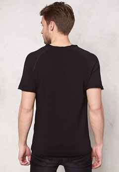 ONLY & SONS Meck Reg O-Neck Black Bubbleroom.se