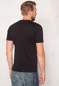 ONLY & SONS Net Fitted Tee Black Bubbleroom.no