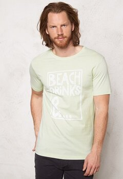 ONLY & SONS Sirius O-Neck Tee Green Lily Bubbleroom.se