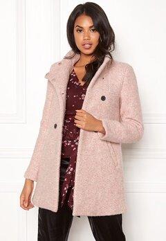 ONLY Sophia Boucle Wool Coat Moonlight/Melange Bubbleroom.se