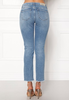 ONLY Sui Reg Ankle Jeans Light Blue Denim Bubbleroom.fi