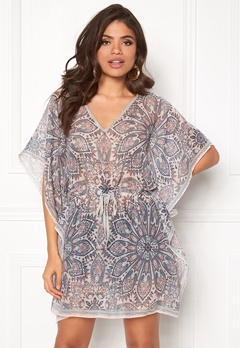 ONLY Sus Weaved Beach Poncho Rose Quartz Bubbleroom.eu