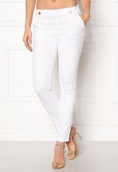 Jacqueline de Yong Tara Button Pant White Bubbleroom.se