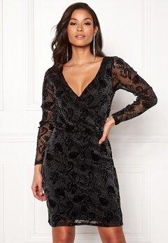 ONLY Tayla L/S Dress Black Bubbleroom.se