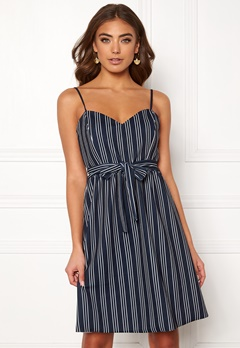 ONLY Tina S/L Dress Night Sky/Stripes Bubbleroom.se