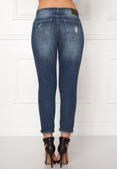 ONLY Tonni Boyfriend Jeans Medium Blue Denim Bubbleroom.fi