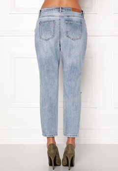 ONLY Tonni Jeans Light Blue Denim Bubbleroom.dk