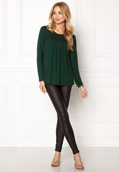 ONLY Tracy L/S Top Ess Pine Grove Bubbleroom.se