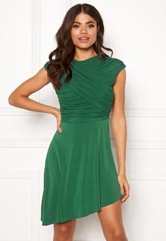 ONLY True S/L Drappy Dress Verdant Green Bubbleroom.se