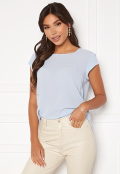 ONLY Vic S/S Solid Top Kentucky Blue Bubbleroom.se