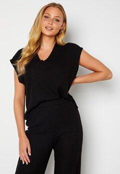 ONLY Vilda S/L Vest Black Bubbleroom.se