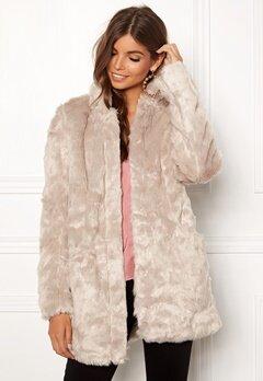 ONLY Viva Fur Coat Pure Cashmere Bubbleroom.se