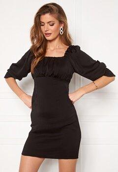 ONLY Vivi Short String Dress Black Bubbleroom.se