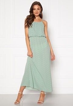 ONLY Winner SL Maxidress Chinois Green Bubbleroom.se