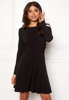 ONLY Xenia L/S Dress Black Bubbleroom.se